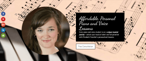 Elizabeth Foeckler Voice and Piano Lessons Front Royal VA